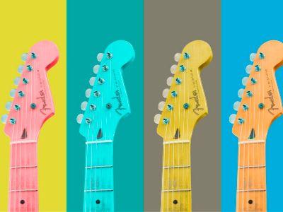 guitarrra electrica fender